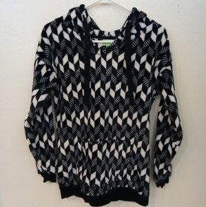 Vera Bradley blanket fleece hoodie